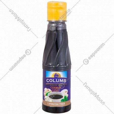 Соус соевый «Columb» с ароматом грибов 190 мл