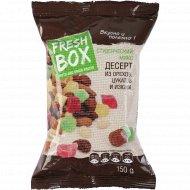 Десерт «Fresh Box» из орехов, цукатов и изюма, 150 г.