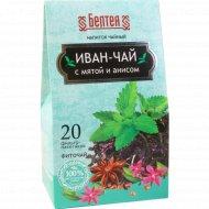 Напиток чайный «Белтея» иван-чай с мятой и анисом, 20 шт х 1,2 г.