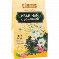 Напиток чайный «Белтея» иван-чай с ромашкой, 20 пакетиков х 1,2 г.