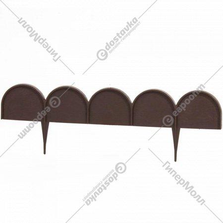 Бордюр садовый «Prosperplast» Garden Line, коричневый