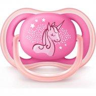 Пустышка силиконовая «Ultra Air» для девочки, 6-18 месяцев, 1 шт.