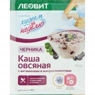 Каша овсяная «Черника» с витаминами и микроэлементами, 40 г.