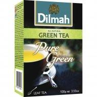 Чай зеленый «Dilmah» листовой, 100 г.