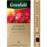 Чайный напиток «Greenfield» летний букет, 25 пакетиков.