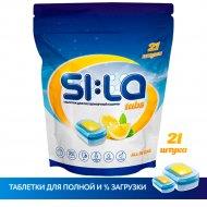 Таблетки для посудомоечных машин «SI:LA» lemon set, 21 шт.