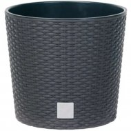 Горшок «Prosperplast» пластиковый Flower pot Rato Round – anthracite