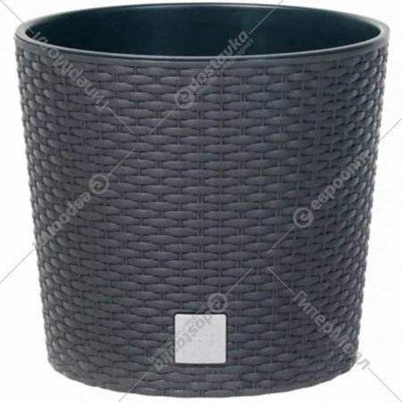 Горшок «Prosperplast» пластиковый Flower pot Rato Round – anthracite
