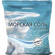 Соль морская для ванн с экстрактом мелиссы, 1 кг.