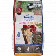 Корм для собак «Bosch» Mini Adult c ягненком и рисом, 1кг.