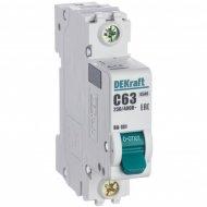 Автоматический выключатель «Schneider Electric» DEKraft, 11060DEK