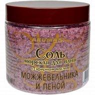 Соль морская для ванн с пеной «Можжевельник» 600 г