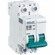 Автоматический выключатель «Schneider Electric» DEKraft, 11065DEK