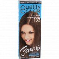 Гель-краска для волос «Эстель» тон 132, шоколадно-коричневый.