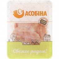 Филе цыплят-бройлеров «Асобiна» охлажденное, 1 кг., фасовка 0.8-1.2 кг