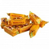 Конфеты неглазированные с молочным корпусом «Korivka Roschen» 1 кг, фасовка 0.3-0.4 кг