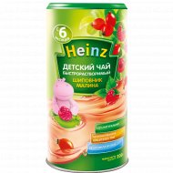 Детский чай «Heinz» шиповник-малина, 200 г.