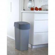 Контейнер для мусора «Curver» Pacific Flip Bin 50 л, серый