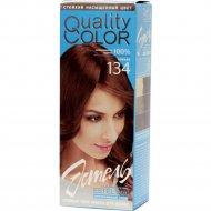 Гель-краска для волос «Эстель» тон 134, коньяк.