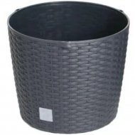 Горшок «Prosperplast» пластиковый Flower pot Rato – antracite