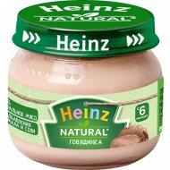 Пюре «Heinz» говядина, 80 г