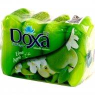 Туалетное мыло «Doxa» яблоко 4х60 г.