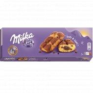 Пирожное «Milka» бисквитное с шоколадной начинкой, 175 г