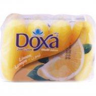 Туалетное мыло «Doxa» лимон 4х60 г.