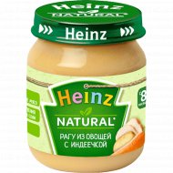 Пюре «Heinz» из овощей с индеечкой, 120 г.