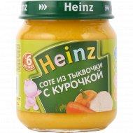 Пюре «Heinz» соте из тыквочки с курочкой, 120 г.