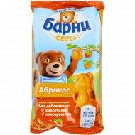 Пирожное бисквитное «Медвежонок Барни» с абрикосом, 30 г.