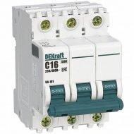 Автоматический выключатель «Schneider Electric» DEKraft, 11078DEK