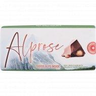Шоколад молочный «Alprose» с цельным лесным орехом, 100 г