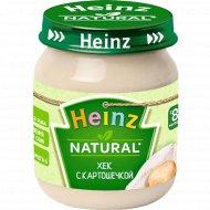 Пюре «Heinz» хек с картошечкой, 120 г.