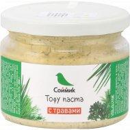 Тофу паста «Соймик» с травами, 260 г.