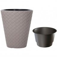 Горшок «Prosperplast» пластиковый Flower pot Matuba – Mocca