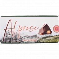 Шоколад горький «Alprose» с цельным лесным орехом, 100 г