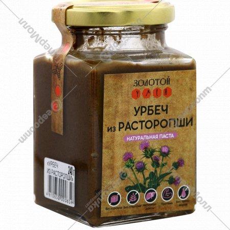 Урбеч «Золотой улей» из расторопши, 240 г.