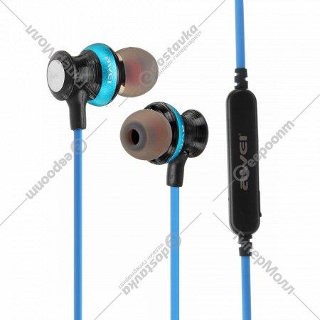 Беспроводные наушники «Awei» A980BL синий.