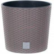 Горшок «Prosperplast» пластиковый Flower pot Rato Round – Mocca