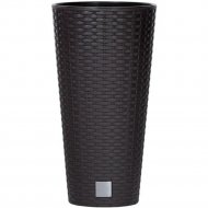 Горшок «Prosperplast» пластиковый Flower pot Rato Tubus – anthracite