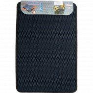 Универсальный коврик «Кольчуга» 40х60 см, синий.