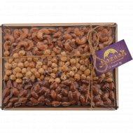 Жареные орехи «Bazaar с изюминкой!» подарочный набор Rocky, 525 г