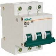 Автоматический выключатель «Schneider Electric» DEKraft, 11082DEK
