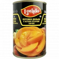 Персики дольки в сиропе «Lorado» 425 г