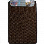 Универсальный коврик «Кольчуга» 40х60 см, теракотовый.
