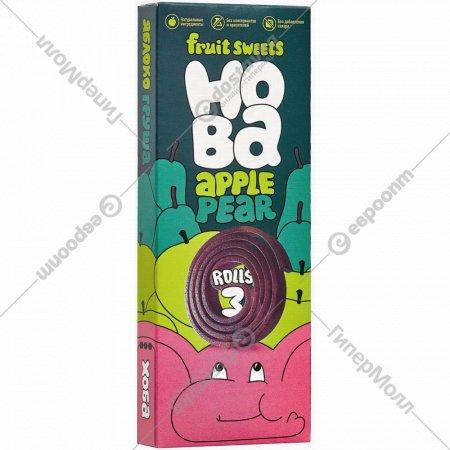Конфеты фруктовые «Hoba» яблоко-груша, 30 г.
