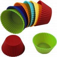 Набор силиконовых мини-форм для выпечки, 12 шт.