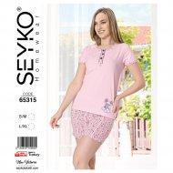 Пижама «Seyko» женская, 65315, р. S/M