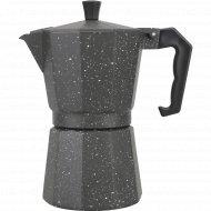 Гейзерная кофеварка из алюминия, 300 мл.